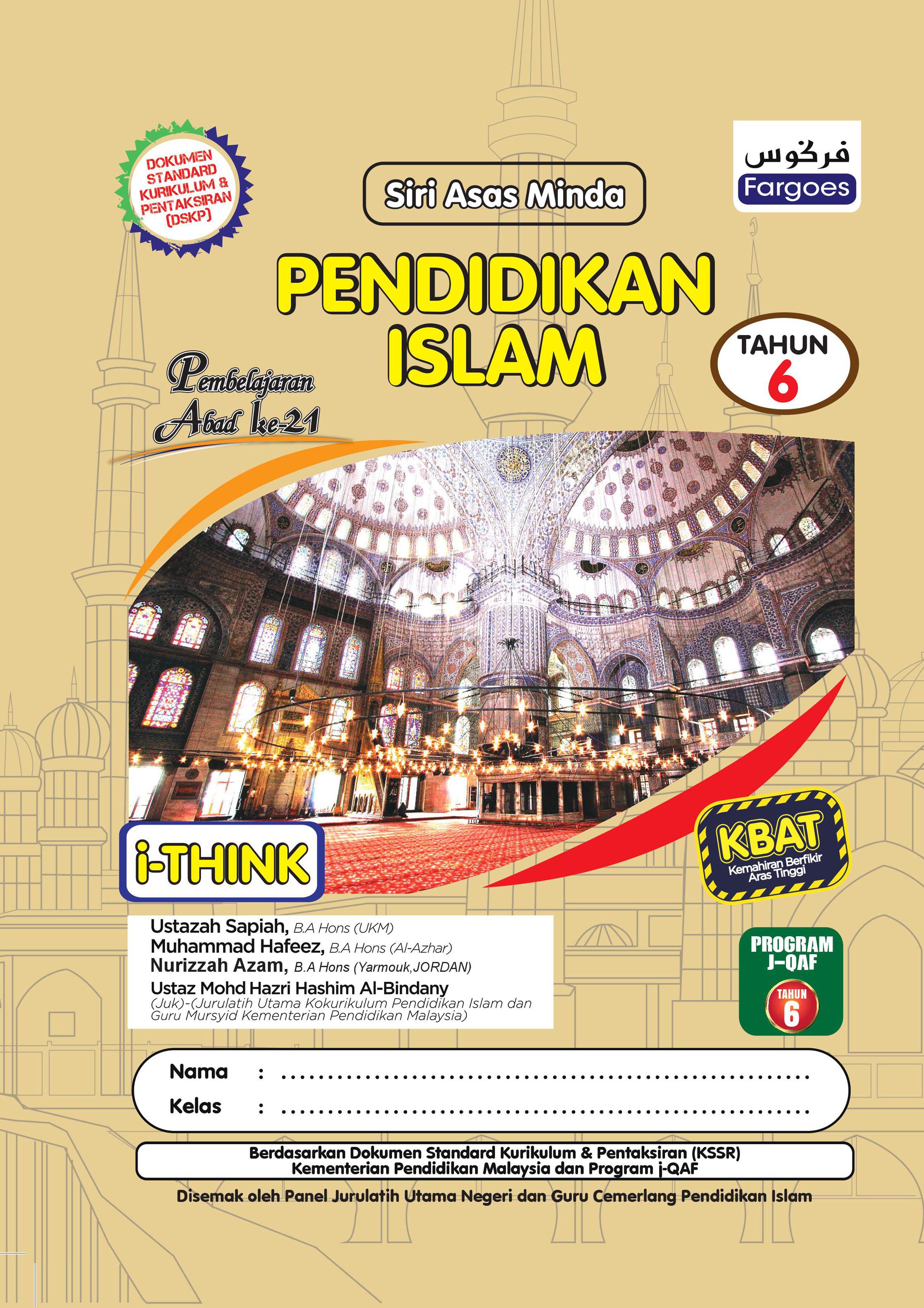 Pendidikan Islam Tahun 6 Fargoes Books Sdn Bhd