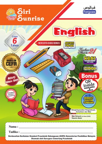ENGLISH CEFR 6 TAHUN