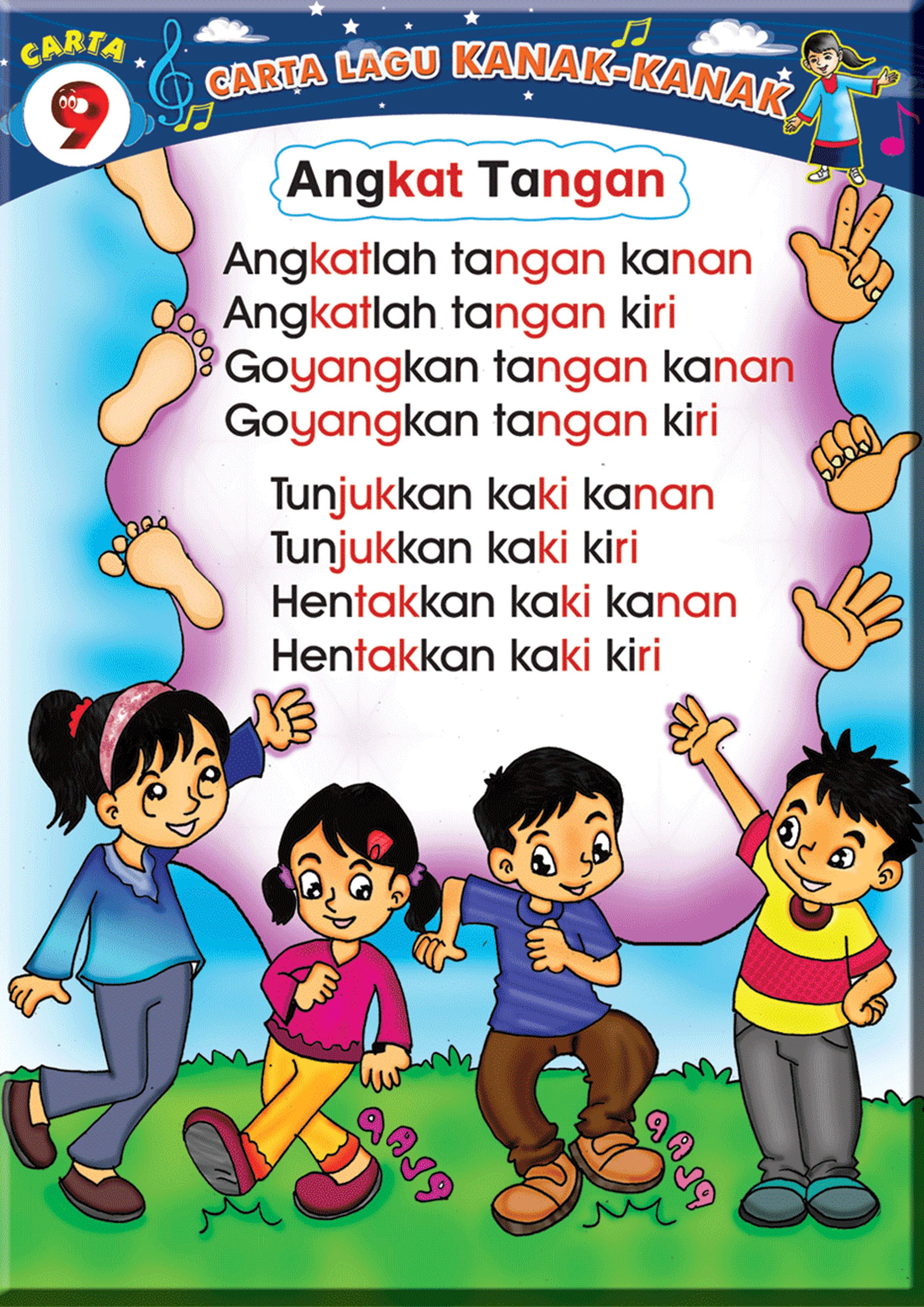 Carta Lagu Kanak Kanak Fargoes Books Sdn Bhd